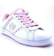 Baby Phat Life Instinct White/Pink/Silver Trainer…