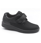 Dr Comfort Annie Lycra Shoes in Black Size 4.5