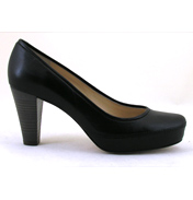 Nubia High Heel Court Shoe in Black Size 39 (UK 6)